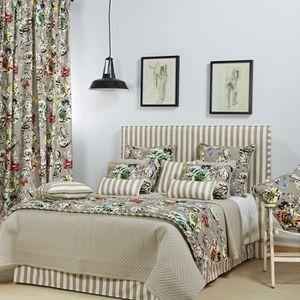 dessus de lit matelasse achat vente dessus de lit matelasse pas cher les soldes sur. Black Bedroom Furniture Sets. Home Design Ideas