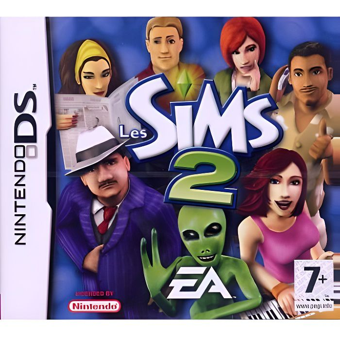 "ROM ""Sims 2, The"" - Nintendo DS [NDS] - Emurom.net"