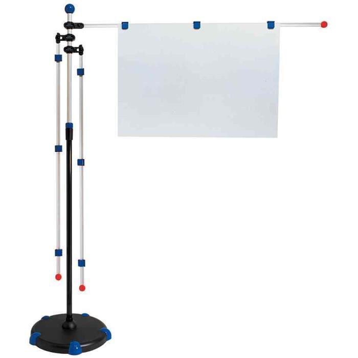 porte plans mobile axe r glable en hauteur gris achat vente tableau paperboard porte. Black Bedroom Furniture Sets. Home Design Ideas