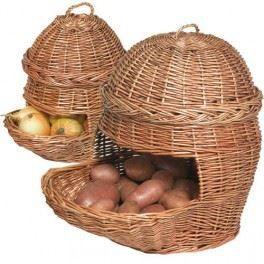 Panier Osier Pour Pommes De Terre Et Oignons Achat