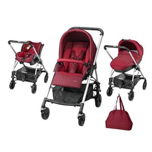 BEBE CONFORT Poussette Combinée Trio Streety Next Robin Red 2015