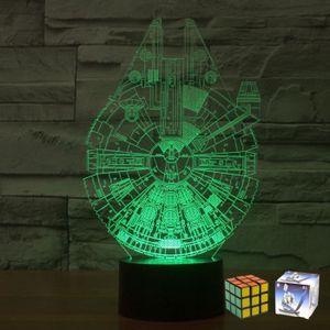 LAMPE A POSER MCE Star Wars Lampe Millennium Falco Acrylique lam