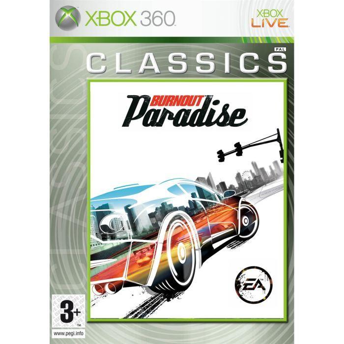 JEUX XBOX 360 Burnout Paradise Jeu XBOX 360
