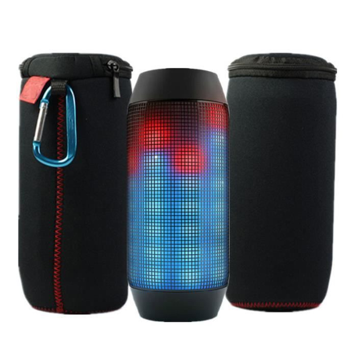 case sleeve voyage zipper bo te de sac pour jbl pulse jbl charge 2 bluetooth speaker enceintes. Black Bedroom Furniture Sets. Home Design Ideas