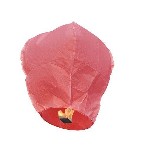 Lanterne volante rouge l 39 unit achat vente ballon d coratif les s - Construire une lanterne volante ...