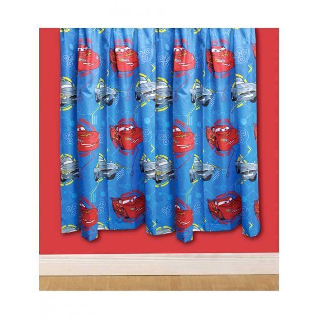 parure de rideaux disney cars spy hauteur 1 achat vente rideau coton polyester cdiscount. Black Bedroom Furniture Sets. Home Design Ideas