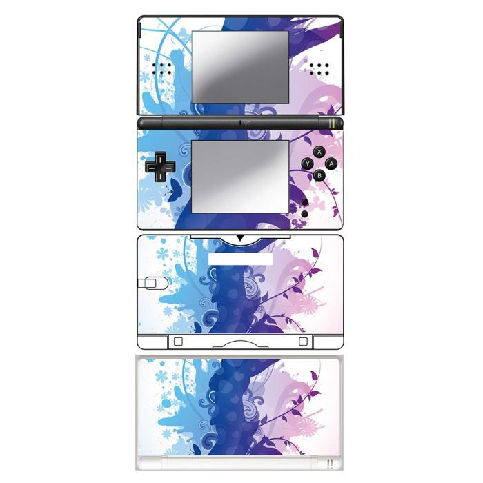 skin stickers pour nintendo ds lite sticker girl jumping achat vente protection ecran. Black Bedroom Furniture Sets. Home Design Ideas