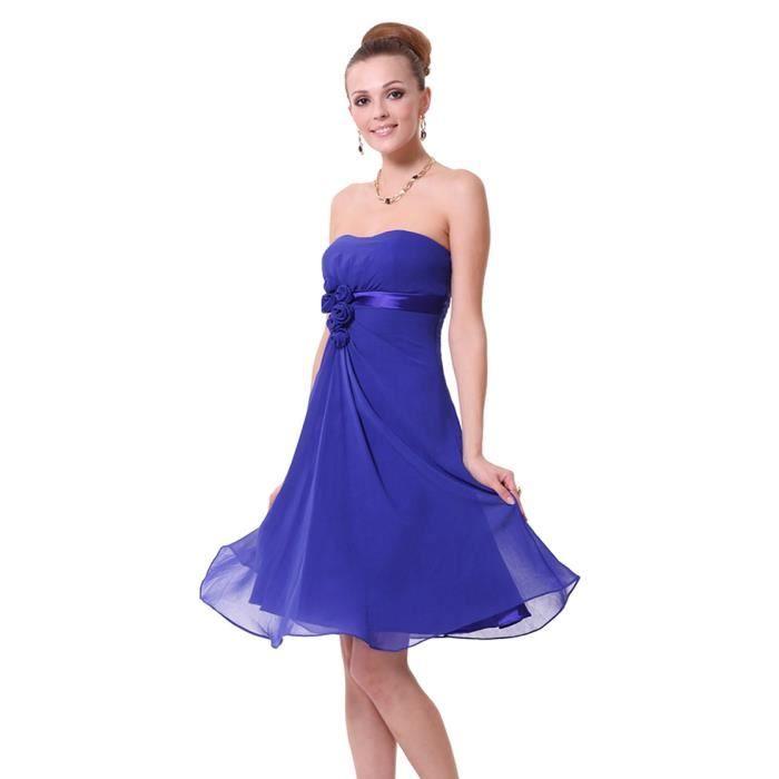 robes de mode robe bustier bleu courte. Black Bedroom Furniture Sets. Home Design Ideas