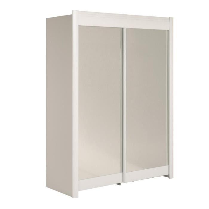 Paris prix armoire portes coulissantes phenix 160cm for Portes coulissantes prix