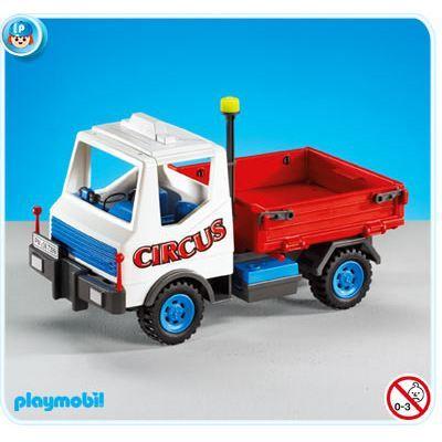 Playmobil 7399 camion de cirque achat vente univers - Cirque playmobil ...