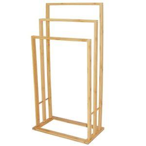 porte serviette bambou achat vente porte serviette bambou pas cher cdiscount. Black Bedroom Furniture Sets. Home Design Ideas