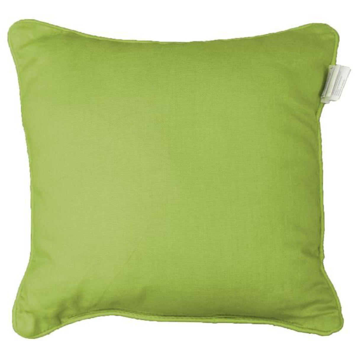 housse coussin 60x60 vert achat vente housse coussin 60x60 vert pas cher cdiscount. Black Bedroom Furniture Sets. Home Design Ideas