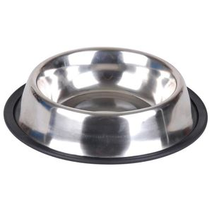 Gamelle en inox avec base antidérapante ? 15,5 cm - Pour chien