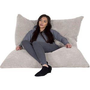 pouf cr me achat vente pouf cr me pas cher. Black Bedroom Furniture Sets. Home Design Ideas