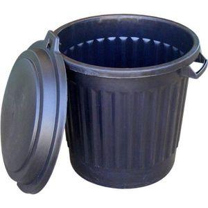 Poubelle 80l achat vente poubelle 80l pas cher cdiscount - Poubelle a roulette pas cher ...