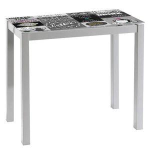 Table de cuisine achat vente table de cuisine pas cher - Table de cuisine grise ...