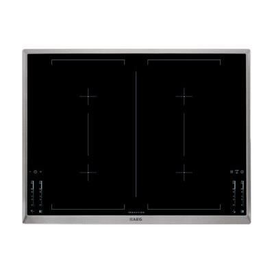 Hk764403xb aeg table de cuisson induction 70 cm achat vente plaque ind - Plaque induction largeur 70 ...