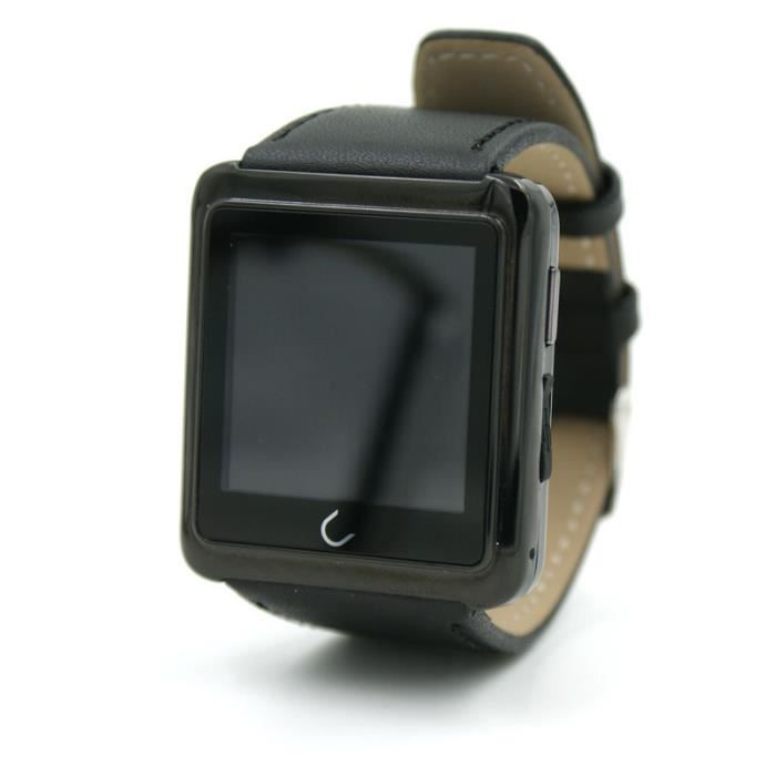montre intelligente smartwatch montre connect e bluetooth 4 0 bracelet pour les smartphones. Black Bedroom Furniture Sets. Home Design Ideas