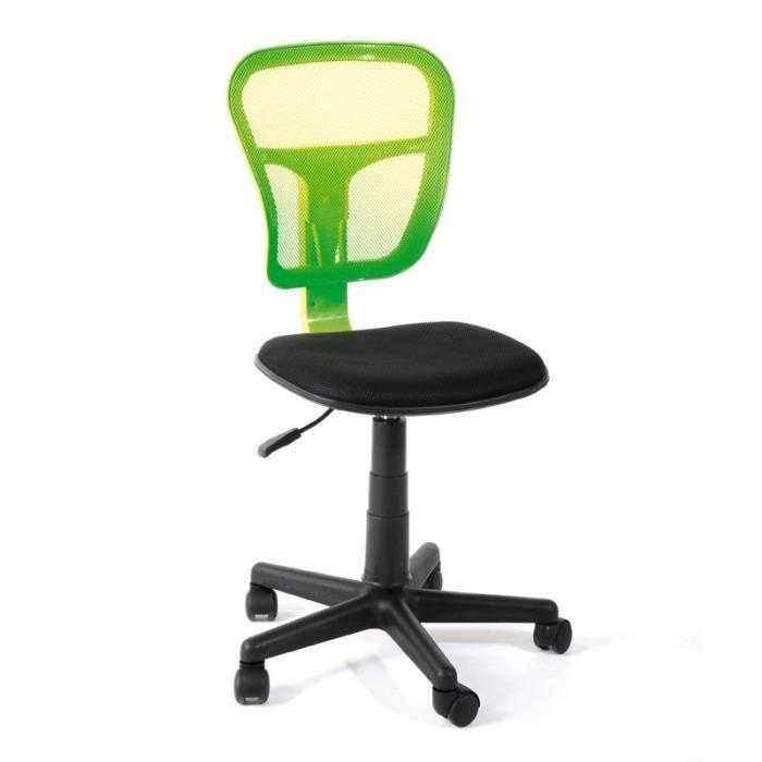 Chaise de bureau pistache hispa achat vente chaise de bureau cdiscount - Chaise de bureau cdiscount ...