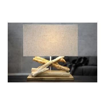 Lampe de table bois flott adelasia achat vente lampe - Achat bois flotte ...