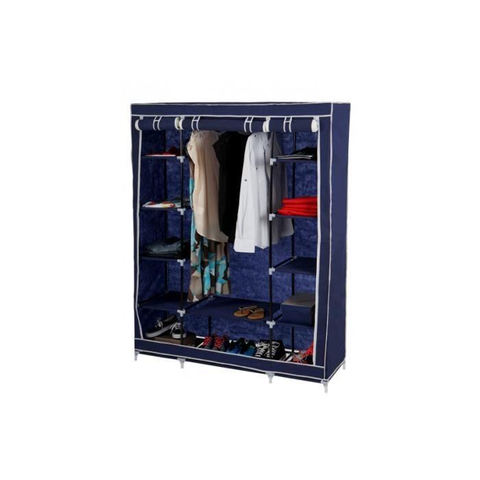 Construction stable de tuyaux en acier au lieu de tuyaux en plastique beauc - Cdiscount armoire de rangement ...