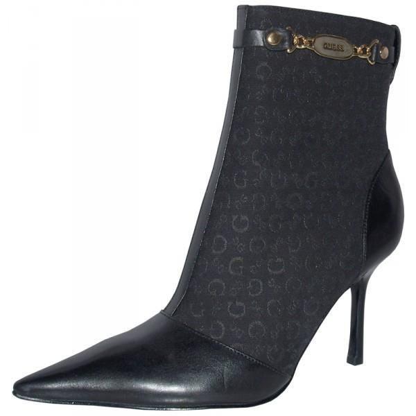 guess bottines femme noires achat vente bottine guess bottines femme noires cdiscount. Black Bedroom Furniture Sets. Home Design Ideas