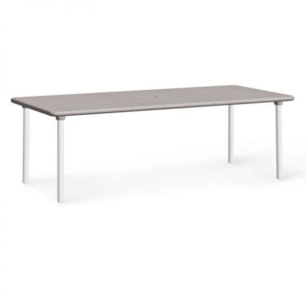 Table extensible nardi maestrale 160 220 cm tortora for Table extensible 160 cm