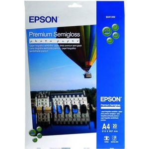 EPSON Papier photo semi brillant - 251g/m2 - A3 - 20 feuilles