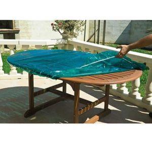 Table de jardin 120 180 achat vente table de jardin - Bache de protection pour table de jardin ...
