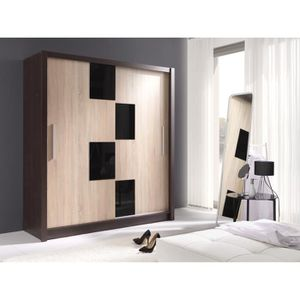 garde robe coulissante achat vente garde robe. Black Bedroom Furniture Sets. Home Design Ideas