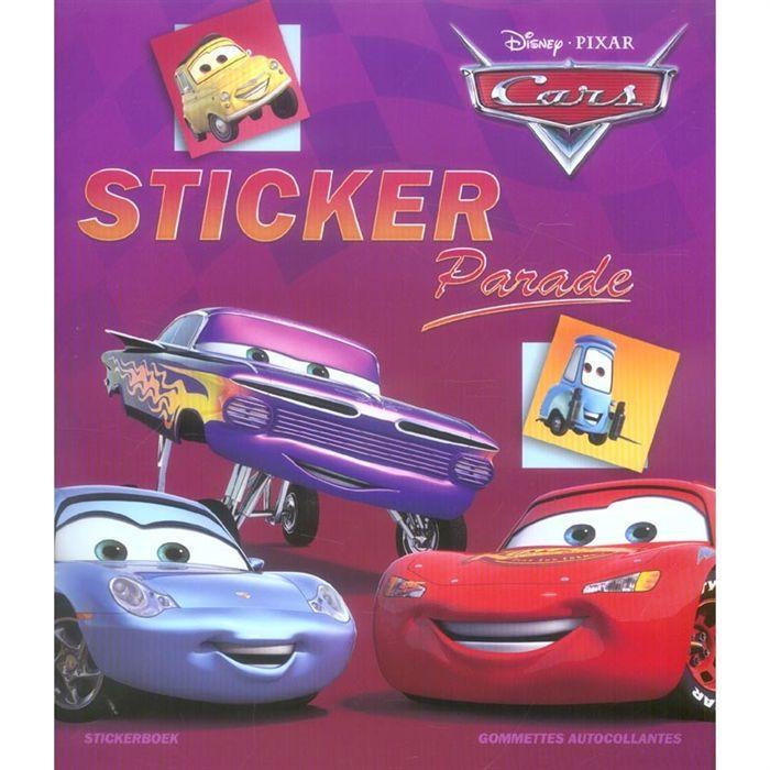 Disney sticker parade cars achat vente livre collectif chantecler parutio - Cdiscount belgique ferme ...