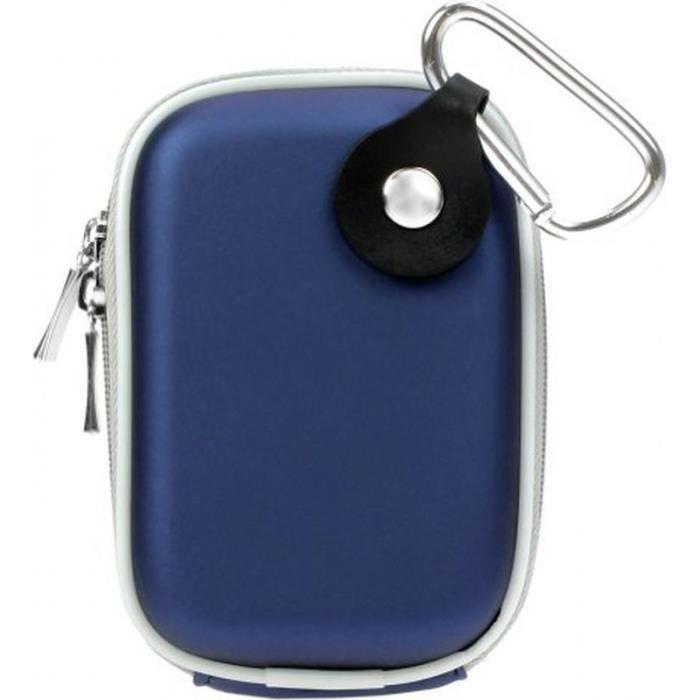 sacoche bleue eva avec mousqueton pour appareil achat. Black Bedroom Furniture Sets. Home Design Ideas