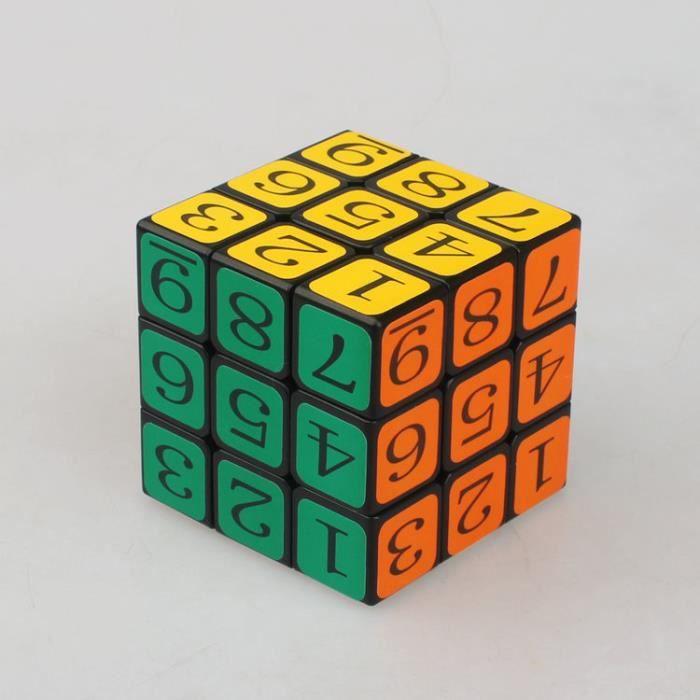 zhuopu num rique de troisi me ordre rubik 39 s cube fond noir achat vente jeu magie cdiscount. Black Bedroom Furniture Sets. Home Design Ideas