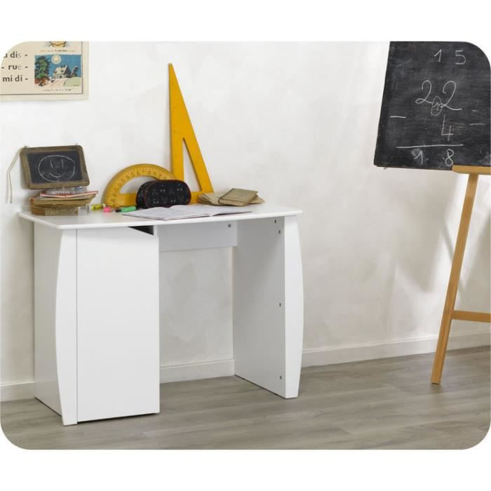 eb bureau enfant nature blanc achat vente bureau b b enfant eb bureau enfant nature b. Black Bedroom Furniture Sets. Home Design Ideas