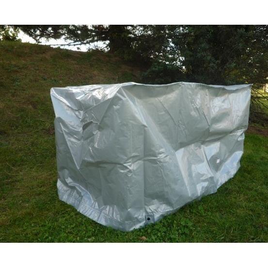 Housse balancelle argent 175x115x158 cm achat vente housse meuble jardin housse balancelle - Balancelle de jardin suisse ...