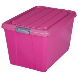 Boite de rangement rosa boite de rangement roulettes - Boite de rangement professionnel ...