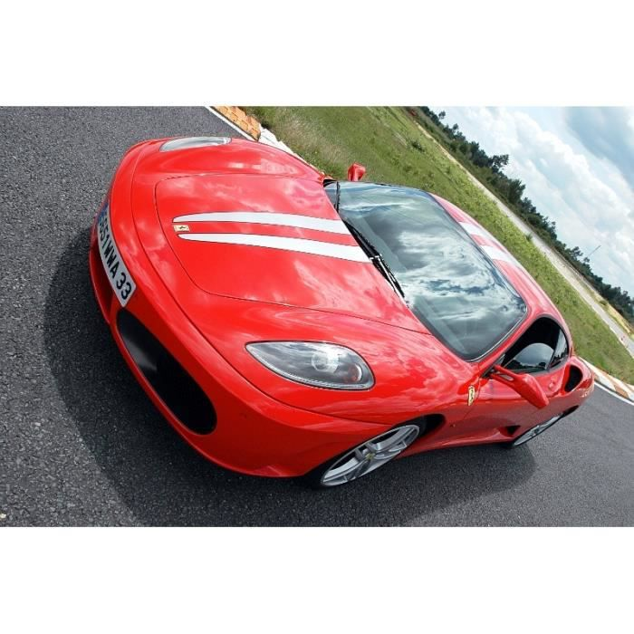 COFFRET CADEAU SPORT Stage de pilotage Ferrari F430 11 tours