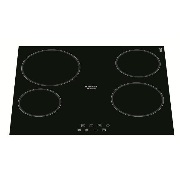 table de cuisson vitroc ramique hotpoint krb640cpl achat. Black Bedroom Furniture Sets. Home Design Ideas
