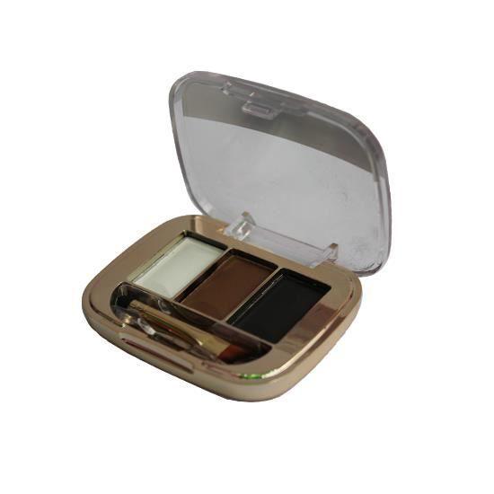 3 couleur poudre sourcils avec brosse sourcils enhancer fondation ensemble sourcils g teau - Poudre a modeler ...