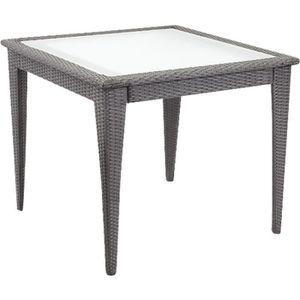Table jardin resine carre achat vente table jardin - Carre de jardin pas cher ...