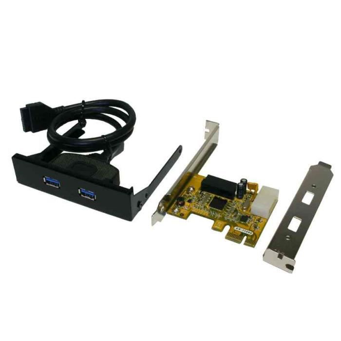Object moved - Carte controleur pci express 4 ports usb 3 0 ...