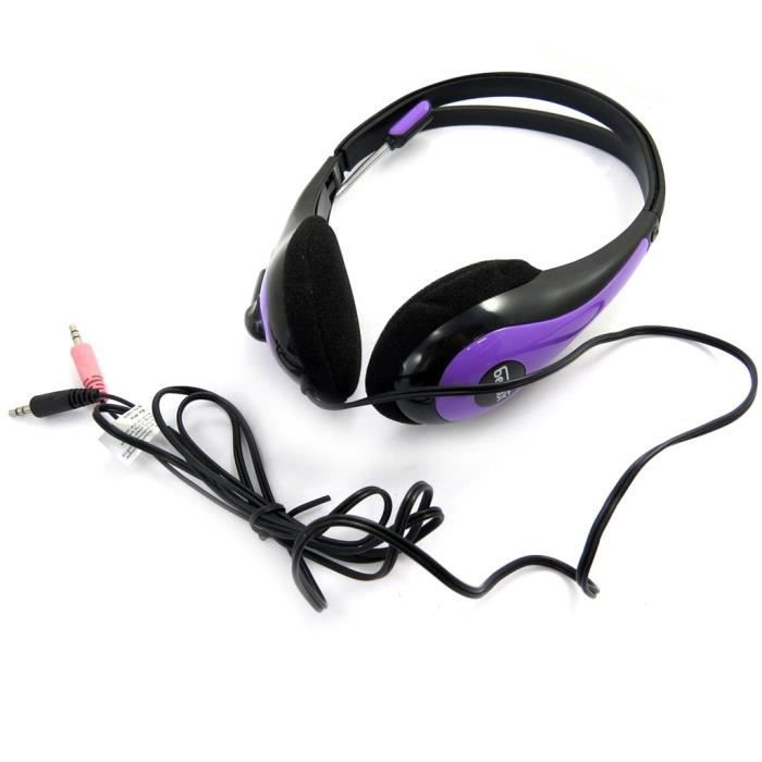 casque audio micro be mix violet casque couteur prix pas cher cdiscount. Black Bedroom Furniture Sets. Home Design Ideas