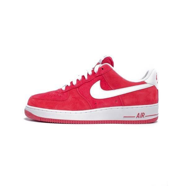Low Rouge Basket Nike Air Force 1 Low Rouge?Voir la présentation