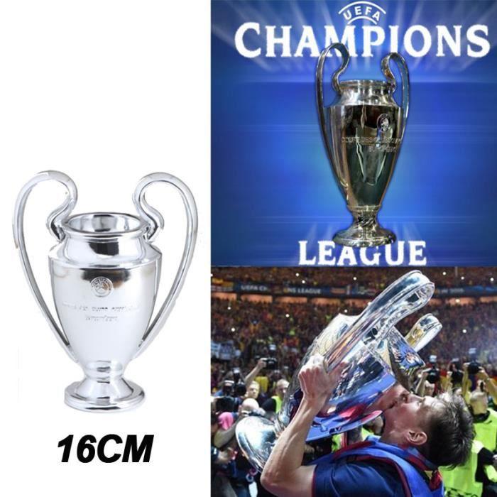 16 cm 2015 uefa ligue des champions r plique du troph e coupe en m tal achat vente - Coupe de ligue des champions ...