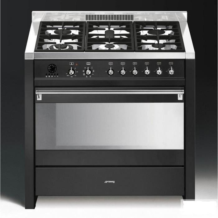 Centre de cuisson op ra 90 cm anthracite ma achat vente cuisini re - Cuisiniere piano 90 cm ...