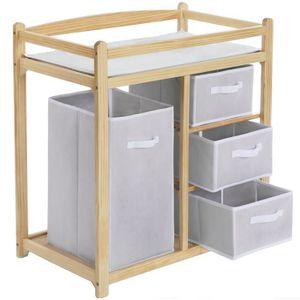 Table langer plan langer b b achat vente table for Panier rangement table a langer