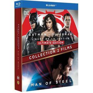 BLU-RAY FILM Blu-Ray Pack Collection 2 films : Batman v Superma