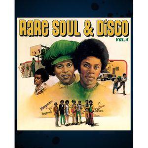 CD SOUL - FUNK - DISCO Rare Soul & Disco Vol.4