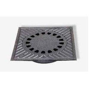 siphon de cour fonte b55a 400 x 400 mm achat vente siphon de lavabo siphon de cour fonte. Black Bedroom Furniture Sets. Home Design Ideas