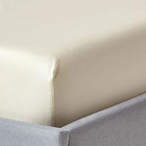 drap housse coton bio 90x190 achat vente drap housse coton bio 90x190 pas cher cdiscount. Black Bedroom Furniture Sets. Home Design Ideas